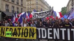 LIVE: Far-right 'Generation Identitaire' to rally against immigration in...