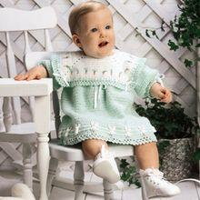 Easter Bunny Dress Crochet Pattern ePattern