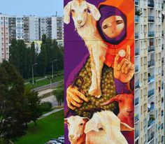 New INTI mural-I Belive In Goats
