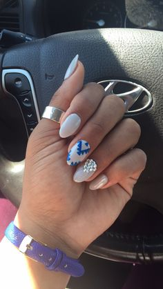 Nailed it! #nails #acrylicnails #almondnails #naildesign