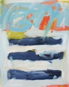 """Eileen Power, """"Seaside"""" 48 x 60"""
