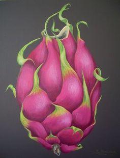 Image result for dragon fruit art