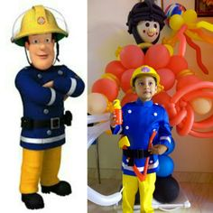 Fireman sam diy costume