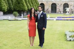 Prince Carl Philip of Sweden and Miss Sofia Hellqvist has announced their engagement today.