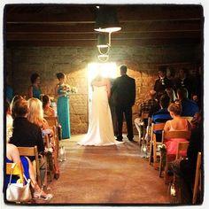 "@Temecula Creek Inn Handcrafted Weddings's photo: ""Wedding inside of the Stone House #congratulations #stonehouseweddings"""