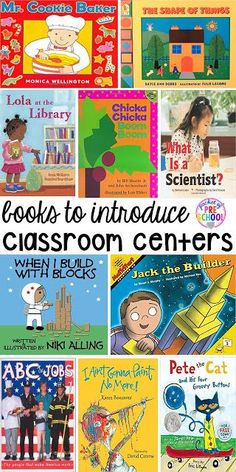 Center Time Management for Preschool and Pre-K – Pocket of Preschool Book list to teach about centers plus Center Time management for preschool, pre-k, and kindergarten plus a free printable to teach about the centers. Kindergarten Centers, Preschool Literacy, Preschool Books, Kindergarten Classroom, Book Activities, Preschool Library Center, Classroom Ideas, Free Preschool, Preschool Behavior