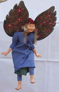inspiration for an artistic garden fairy