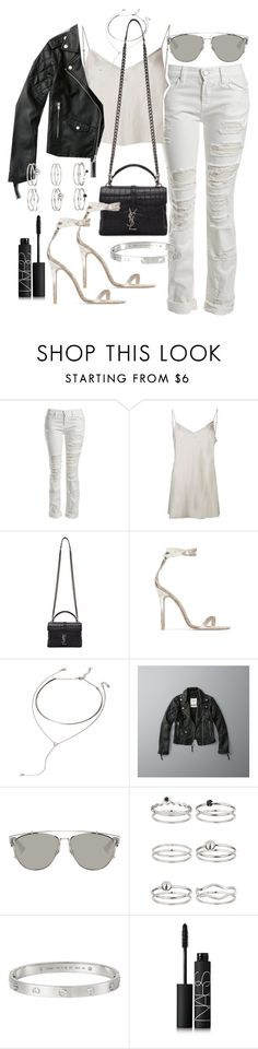 """""""Untitled #20693"""" by florencia95 ❤ liked on Polyvore featuring Sans Souci, Beautiful People, Yves Saint Laurent, Baldwin, Forever 21, Abercrombie & Fitch, Christian Dior, Miss Selfridge, Cartier and NARS Cosmetics"""