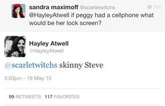 Bless Hayley Atwell.