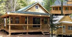 See Why This Wrap Around Log Cabin at Only $44,900 is SO FANTASTIC