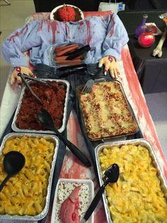 Halloween Buffet, Halloween Bingo, Halloween Foods, Halloween Food For Party, Halloween Horror, Halloween House, Fall Halloween, Halloween Ideas, Halloween Decorations