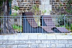 November 2012 Paris Trip - Modern Paris Patio Furniture at its finest!
