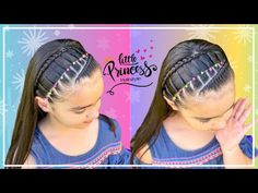 Dance Hairstyles, Princess Hairstyles, Basketball Hairstyles, Hairspray, Hair Dos, Hair Hacks, Toddler Girl, Braids, Hair Styles