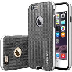 Caseology® iPhone 6 case [Envoy Series] [Metallic Mesh Silver]