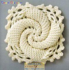 Crochet square: free pattern/chart