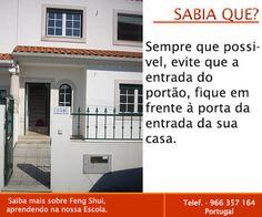 Escola Portuguesa de Feng Shui: SABIA QUE ... ENTRADA