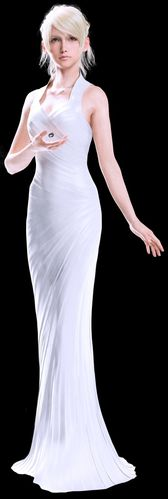XV Lunafreya Nox Fleuret, also known simply as Luna (ルーナ, Rūna?), is the main heroine in Final Fantasy XV and one of the two main characters in Kingsglaive: Final Fantasy XV.