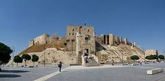The Citadel of Aleppo (Arabic: قلعة حلب) is a large medieval fortified palace in the centre of the old city of Aleppo, northern Syria. It is considered to be one of the oldest and largest castles in the world.