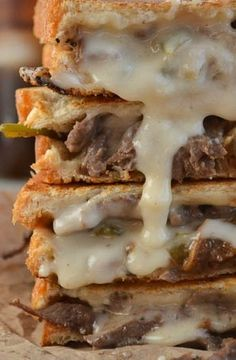 Philly Steak and Grilled Cheese