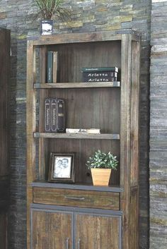 The rustic Artisan Revival Door Bookcase is more than a just a home for books. This stately case is the perfect surrounding for your pictures, trophies or collectibles. The lower doors and drawer storage keep your supplies tidy and out of sight.