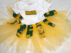 GreenBay Packers Tutu Dress by RayneBelles on Etsy