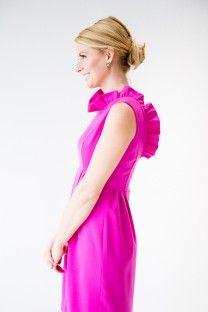 The Camilyn Beth 'Go Go' Dress in Fuchsia.