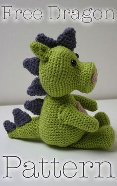 081c63ec9bfba Dragon Crochet - a free pattern Dragón De Ganchillo