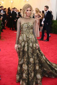 Kate Mara in Valentino [Photo by Evan Falk]