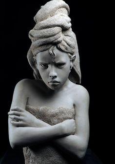Philippe Faraut Le Cri, Anatomy Sketches, Oui Oui, Art Object, Sculpting, Africa, Clay, Fine Art, Finger Lakes