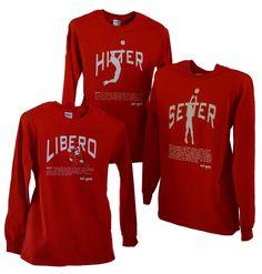 Setter Volleyball Long Sleeve Shirts'