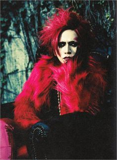 Ruki (the GazettE, Rock And Read magazine Vol. 061)