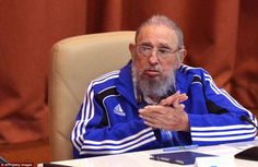 Fidel Castro, who led the country of Cuba for nearly half a century (pictured during his l...