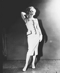 Marilyn Monroe graces the cover of The Sunday News magazine, September 1952.