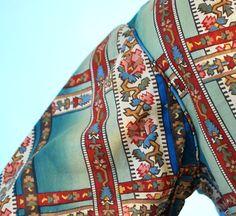 1860s cotton dress