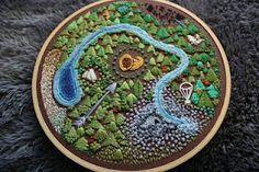 unique HG arena embroidery