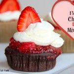 Flourless Chocolate Rose Mini Cakes (or without Rose)