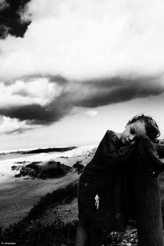 #portrait #b&w #beach © chicheri #fotografie #photography #kids