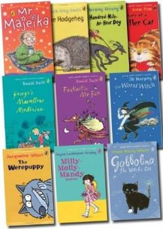 Roald Dahl Collection, Jacqueline Wilson, Modern Classic, This Book, Box, Snare Drum, Boxes