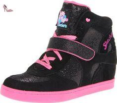 Skechers Hydee Plus 2, Baskets mode fille - Noir (Bkhp), 30 EU (13 US) - Chaussures skechers (*Partner-Link)