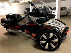 Can Am Spyder, Trike Motorcycle, Type 3, Austria, Europe, Facebook, Space, Check, Pictures