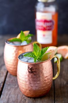 A delicious riff on the classic mule, this Ruby Red Moscow Mule cocktail uses Deep Eddy Ruby Red Vodka, lime and ginger. Sweet, tart and refreshing!