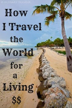 Want to know how to get paid to travel the world and be your own boss? I've shared my insider tips on how I'm able to travel the world for a living! Oh The Places You'll Go, Places To Travel, Travel Destinations, Places To Visit, Travel Tourism, Travel Around The World, Around The Worlds, Backpacking, Camping