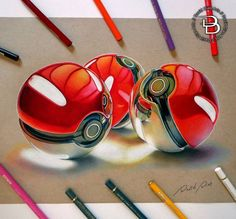 Color Pencil Drawing by David Dias…