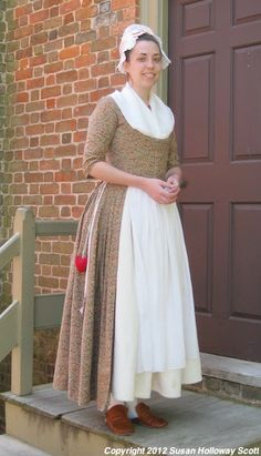 18th c common peoples dress
