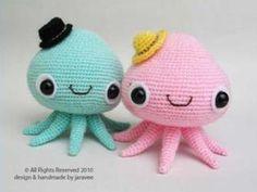 Octopus amigurumi!!