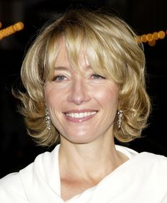 emma thompson is very good! She was in Saving Mr. Banks (P.L. Travers) and the Harry Potter movies (Professor Sybill Trelawney)
