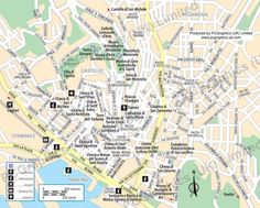 Map of Cagliari, Sardinia, produced by PCGraphics. See more of our maps on our website  http://www.pcgraphics.uk.com  or read our blog  http://www.pcgraphics.uk.com/blog/
