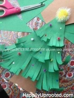 Craft: Our Thankful Tree and Countdown to Christmas! 40 days of Christmas! Preschool Christmas, Noel Christmas, Christmas Countdown, Christmas Activities, Christmas Crafts For Kids, Christmas Projects, Christmas Themes, Holiday Crafts, Holiday Fun