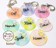 Keychain Design, Diy Keychain, Uv Resin, Resin Art, Diy Resin Crafts, Diy And Crafts, Resin Jewelry, Jewelry Crafts, Diy For Kids