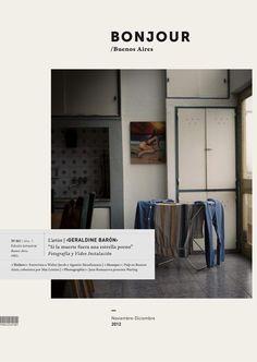 Bonjour   Photo & Art Magazine by Iara Kremer, via Behance